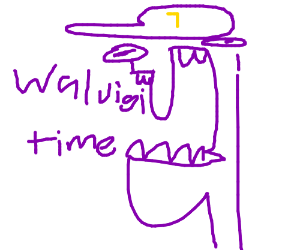 Expecting a normal game, too bad Waluigi time!