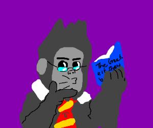 Winston, the gorilla with brains