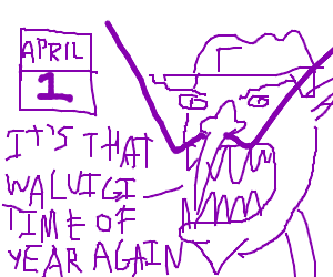 April Fools is Waluigi's time to shine