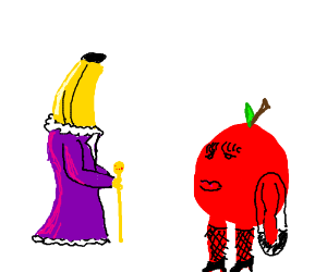 Banana pimp, apple hooker