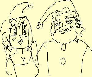 Girl's Kawaii Christmas