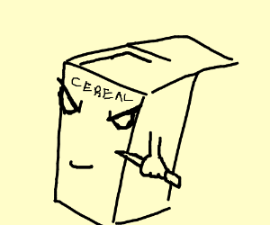 Male Cereal killer