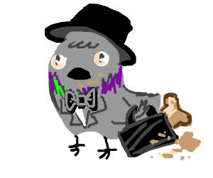 Business pigeon