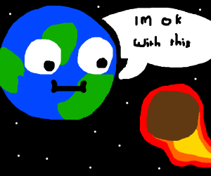 Earth is ok with imminent meteor collision