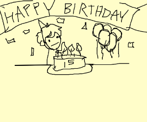15th birthday party