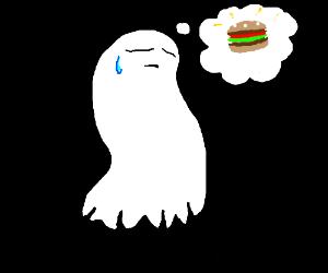 ghost is hungry