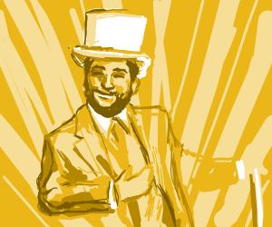 The classiest, most golden gentleman ever