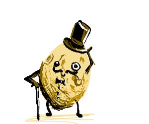 Dapper potato man