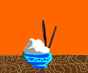 A fine bowl of rice