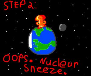 Step 1: achoo