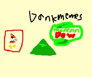 Illuminati, Dank Memes, Doritos & MountainDew