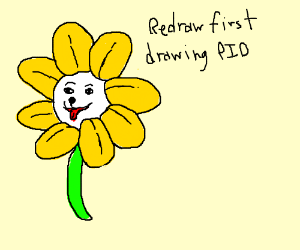 Redraw First Drawing PIO