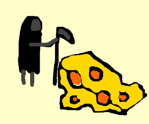 the grim reaper has come for the swiss(cheese)