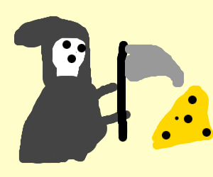 The dead killing something yellow