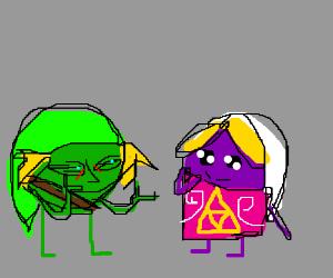 Pea Link meets Grape Zelda