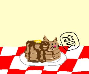 Pancake kitten