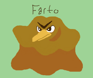 Farto, the Farfetch'd/Ditto fusion.