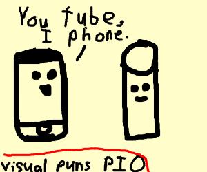Visual puns! PIO