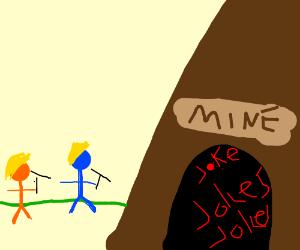 mining for jokes
