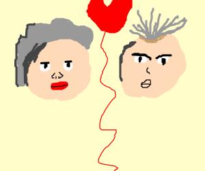 Two pair grandparents