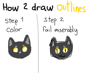 How to draw outlines 101.