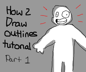 How 2 draw outlines