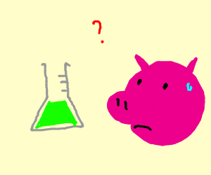 Pig does NOT understand chemistry