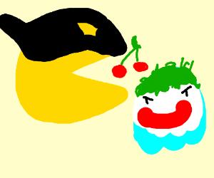pacman batman ghosts joker