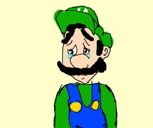 Luigi with depression