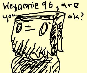 Default DC profile pic asks if annie96 is ok