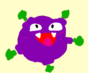 happy koffing