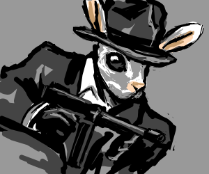 Gangsta Rabbit