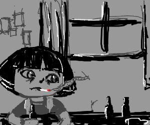 Dora is bummed