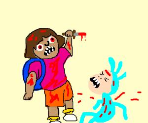 Dora the Explorer, deleted scenes