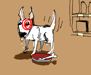 Target Dog Drawing By FranticHands