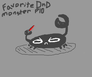 Favorite D&d monster P I O (mine is Beholders) - Drawception