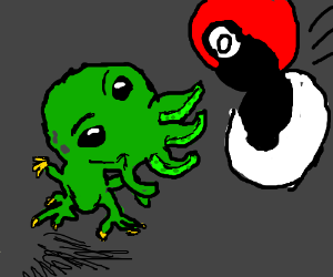 Catching adorable Cthulhu with a Pokéball