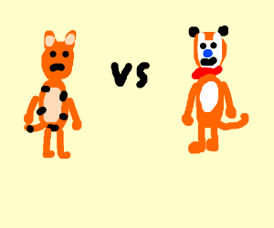 Tiger vs frosted flakes tiger