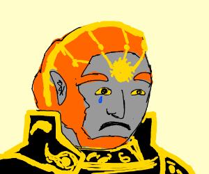 ganondorf is sad
