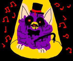 Demonic Furby The Musical Drawception
