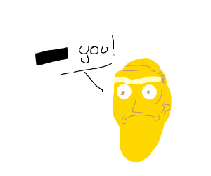 floating heads use censored insults