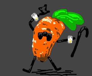 A carrot doing whatever you want.