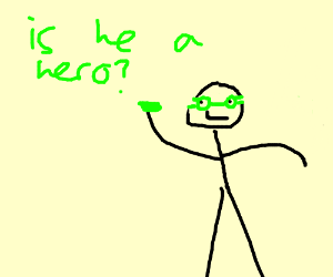green lantern is a real hero (or is he?)