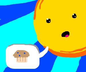 The sun wants muffins!