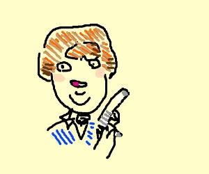 Derek Bum And Kitchen Gun