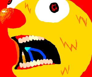 Yellmo consume the D