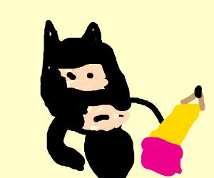 jazza becomes batman