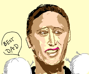 Marshmallows call Nick Cage the best dad ever