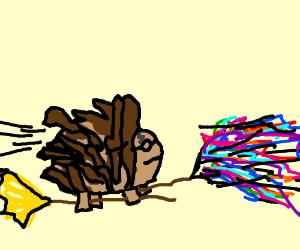 Harry Potter porcupine