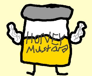 Super strong honey mustard taste